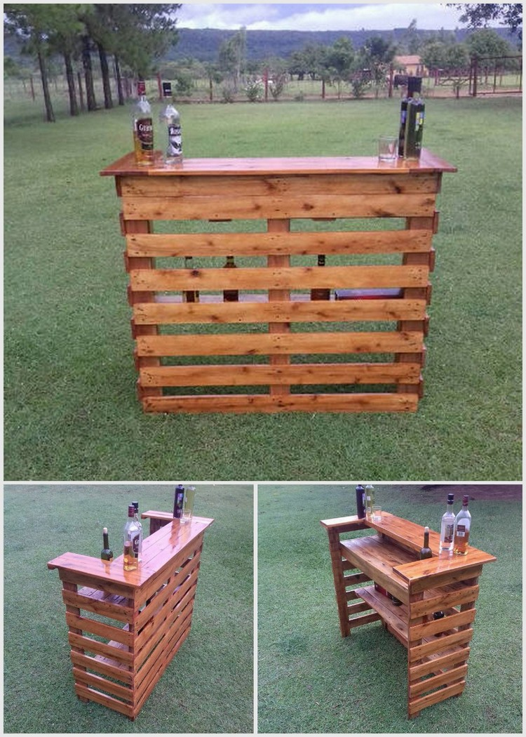 Creative ideas for recycled wood pallets pallet wood for What can you make with recycled pallets