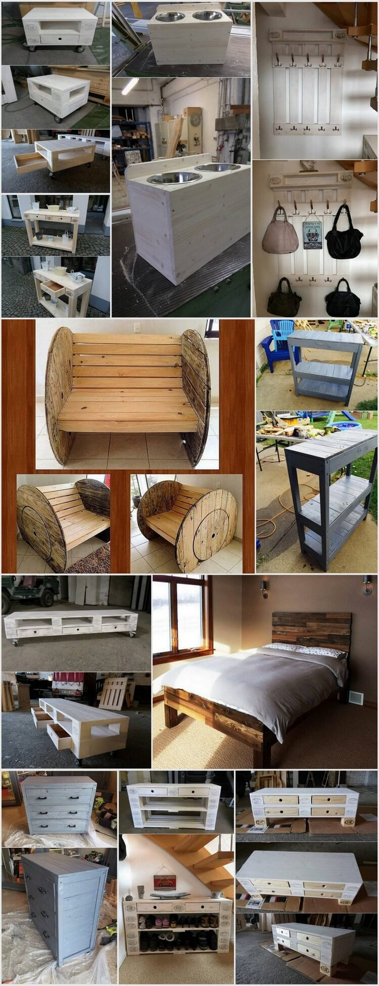 Cool and Terrific Wood Pallet Projects