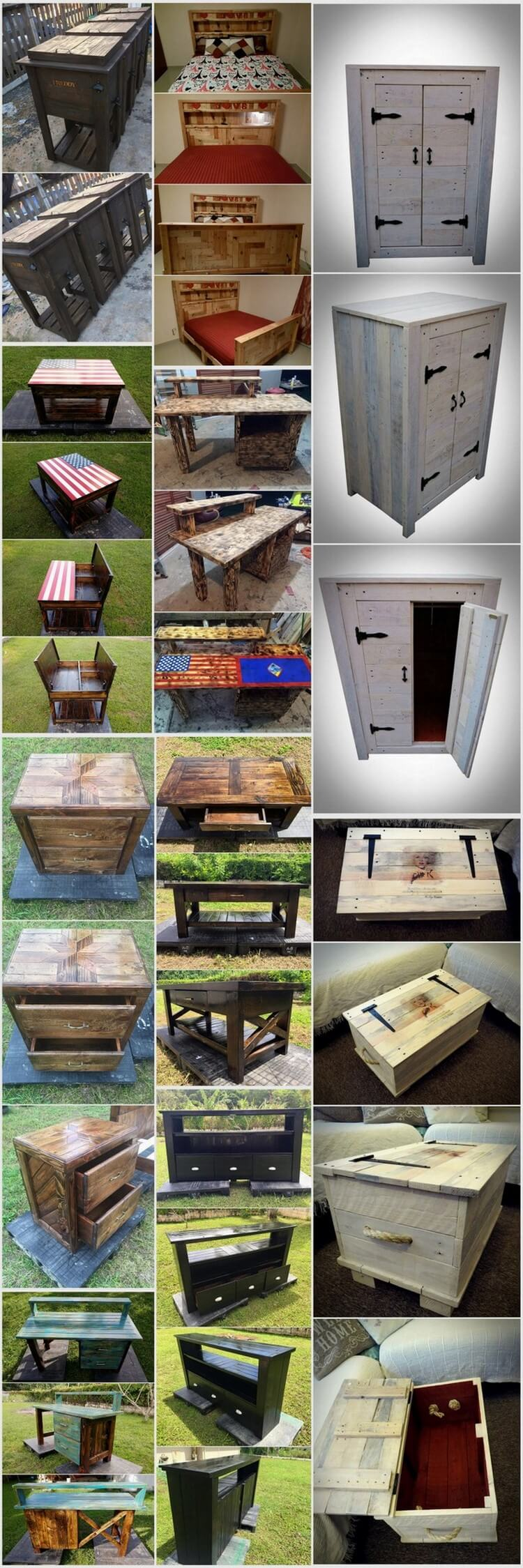 Creative Ways to Give Wood Pallets Second Life