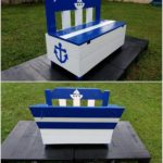 Cute Pallet Bench with Storage