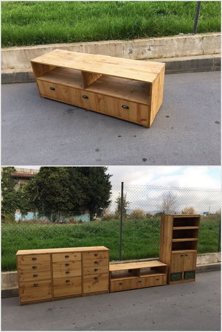 Few ideas about recycling wooden pallets pallet wood for What can you make with recycled pallets
