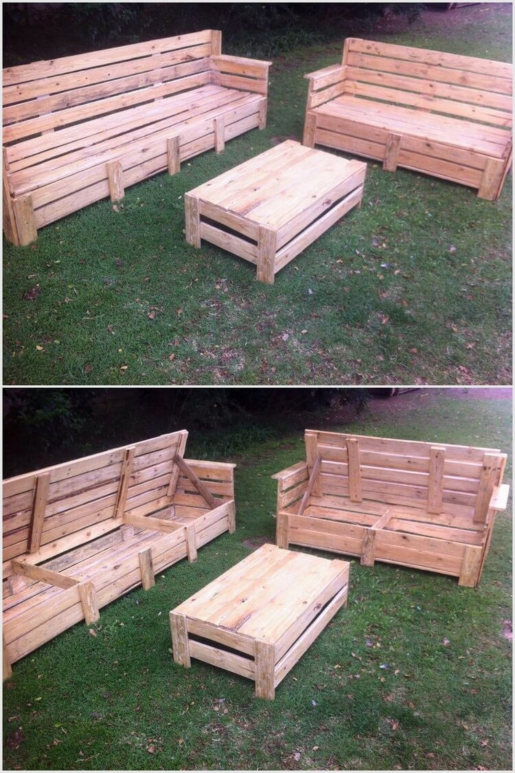 Some Cool Projects to Try with Used Wood Pallets | Pallet Wood Projects