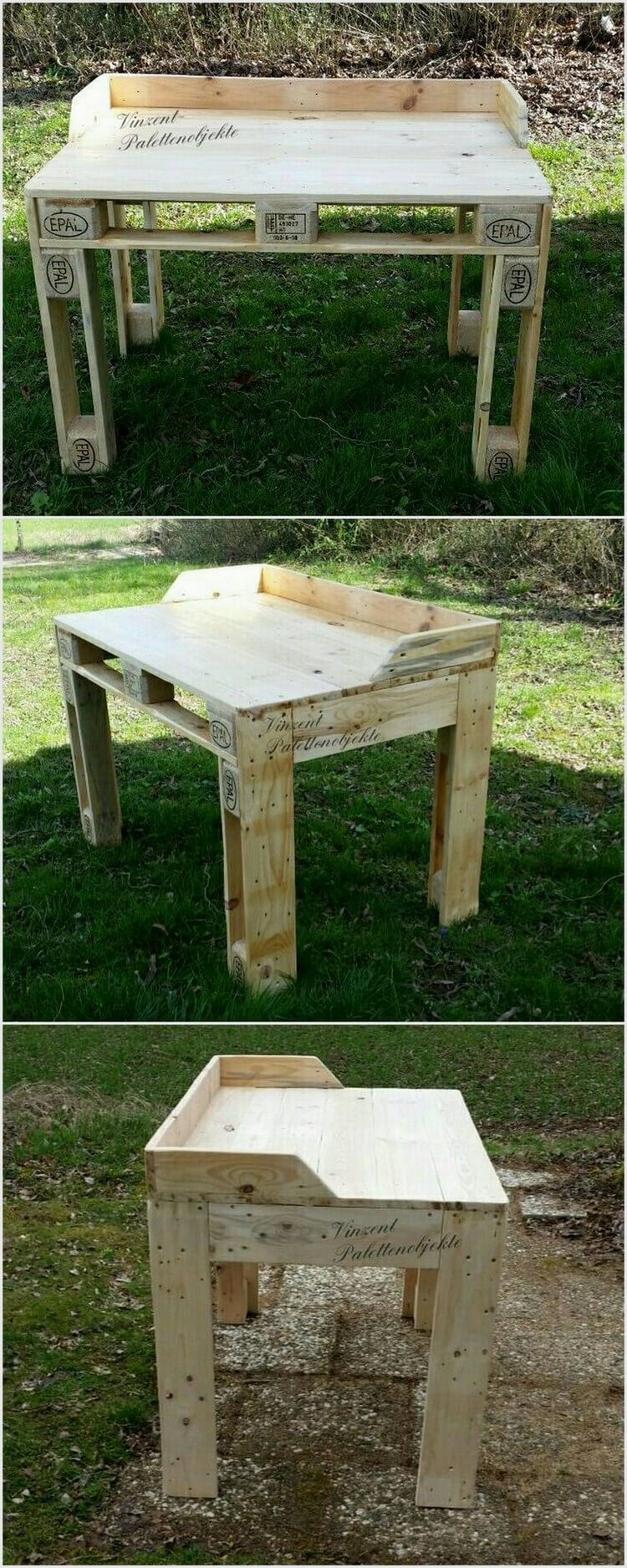 Pallet Outdoor Garden Table