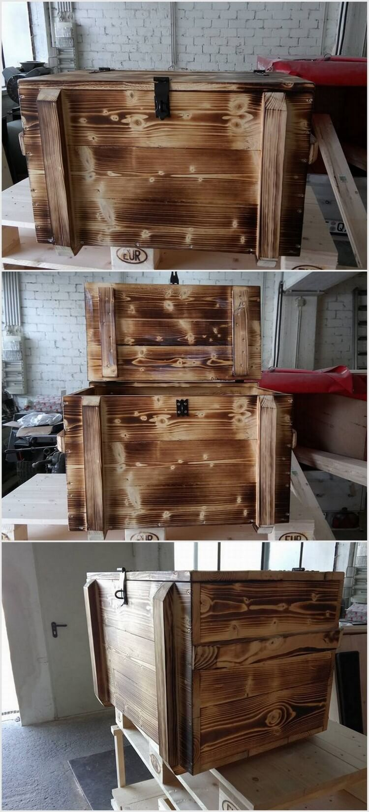 Pallet Storage Box - Chest