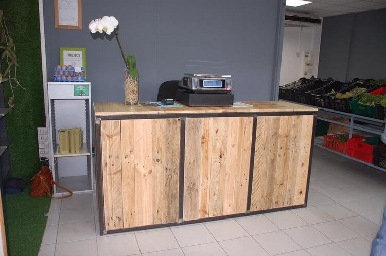 Pallet Table or Counter