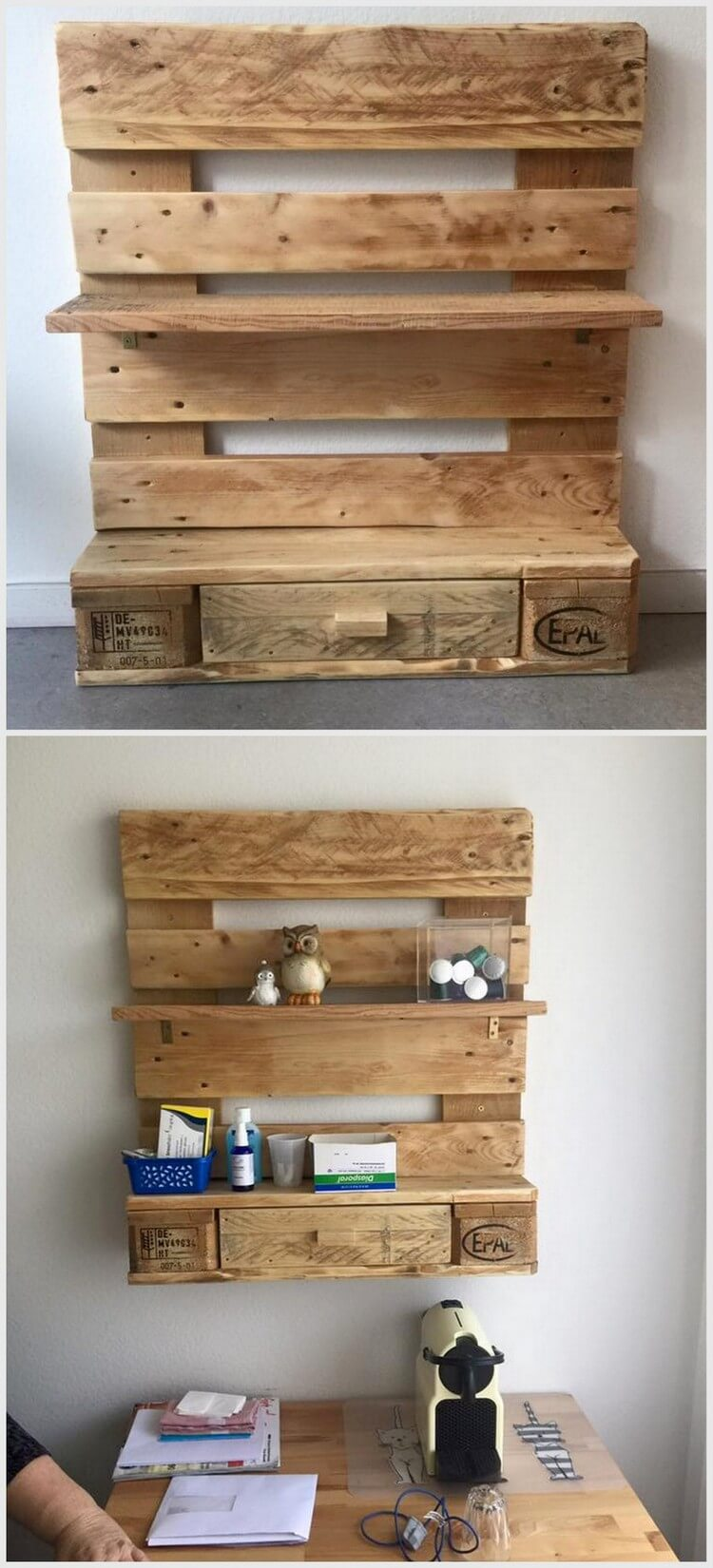 Wonderful creations made with reused wood pallets pallet for What can you make with recycled pallets