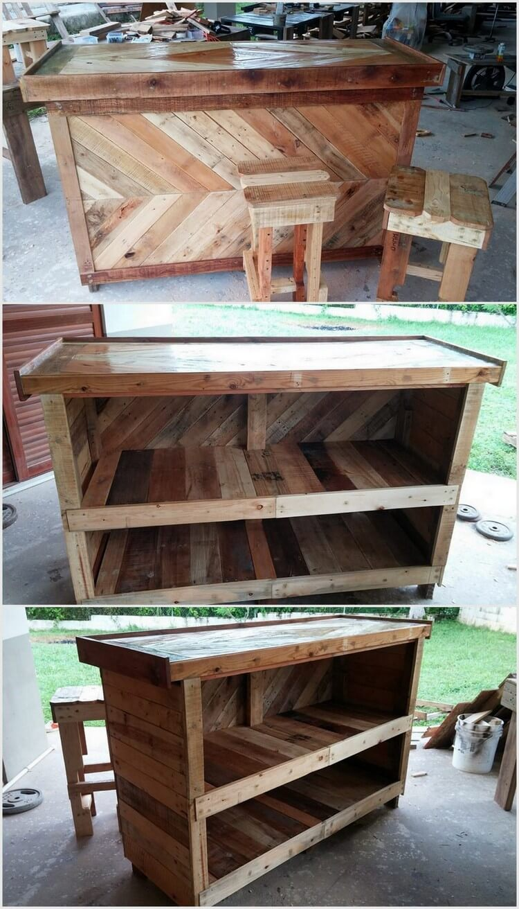 Ideas to reuse the old shipping pallets pallet wood projects for What can you make with recycled pallets