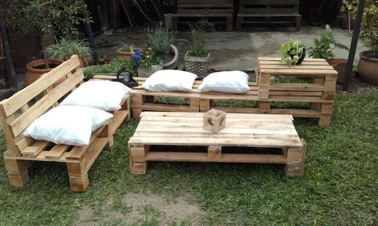 recycled wood pallet garden furniture - Garden Furniture Wooden Pallets