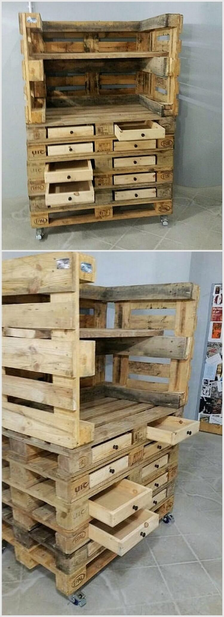 Few ideas about recycling wooden pallets pallet wood for Pallet ideas