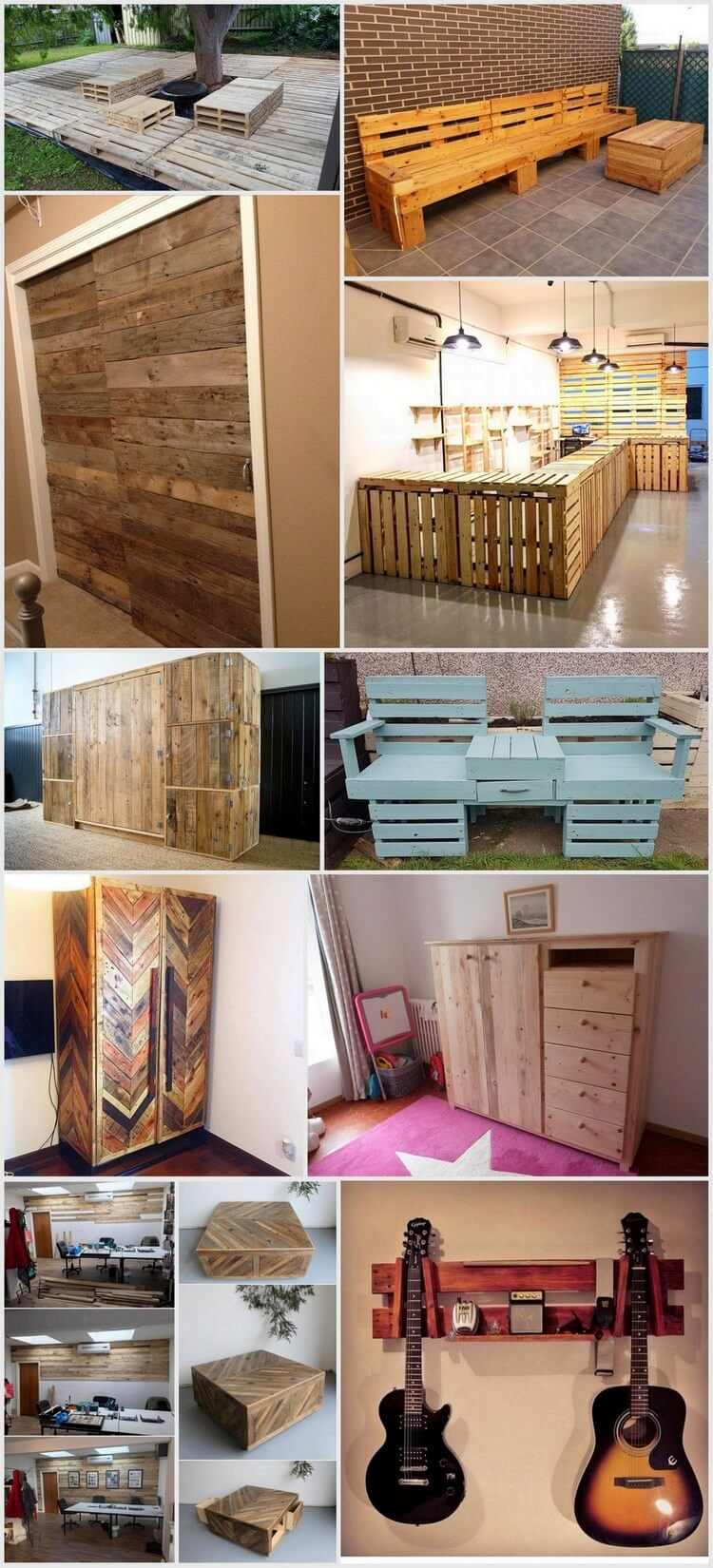 Some Amazing Plans for Recycled Wood Pallets