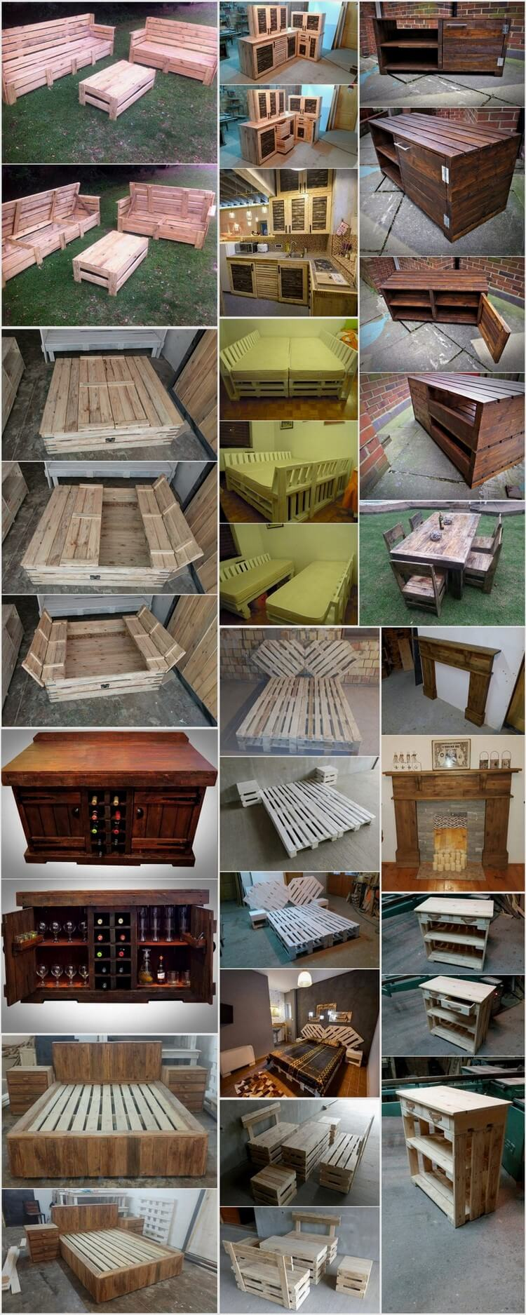 Some Cool Projects To Try With Used Wood Pallets Pallet