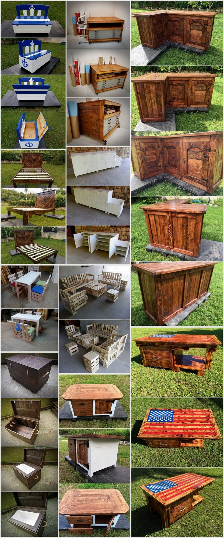 Stunning Achievements with Recycled Pallets Wood