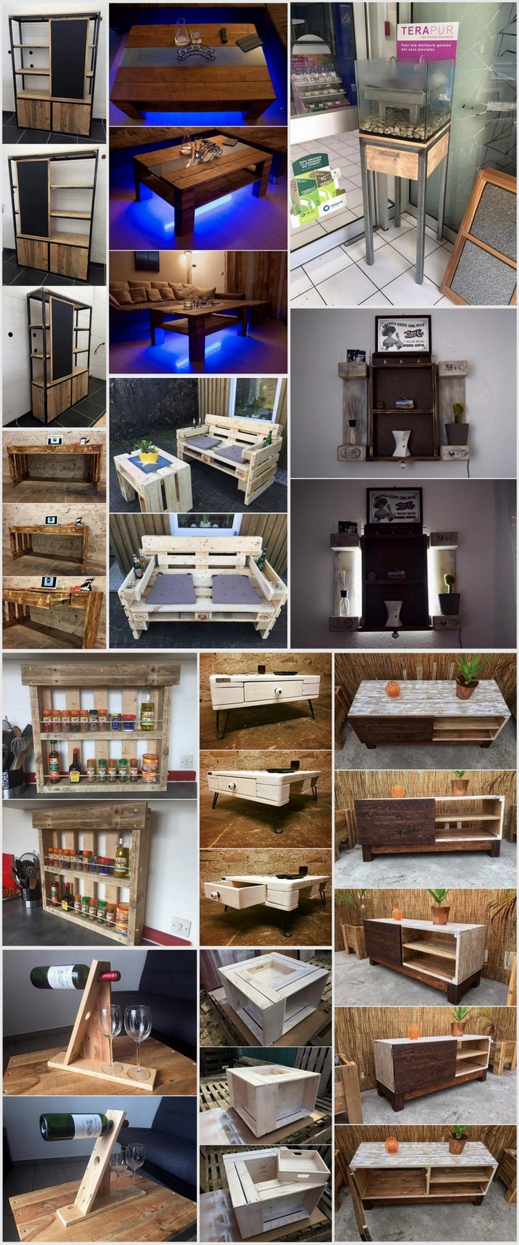 easy to make furniture ideas. Wonderful Pallet Wood Furniture Ideas That Are Easy to Make