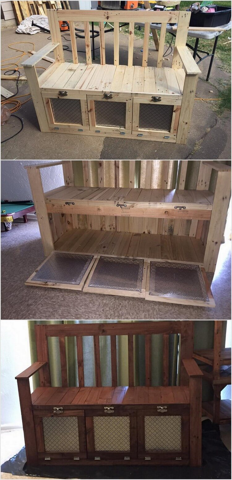 Shocking recycling ideas for shipping wood pallets for What to make out of those old wood pallets