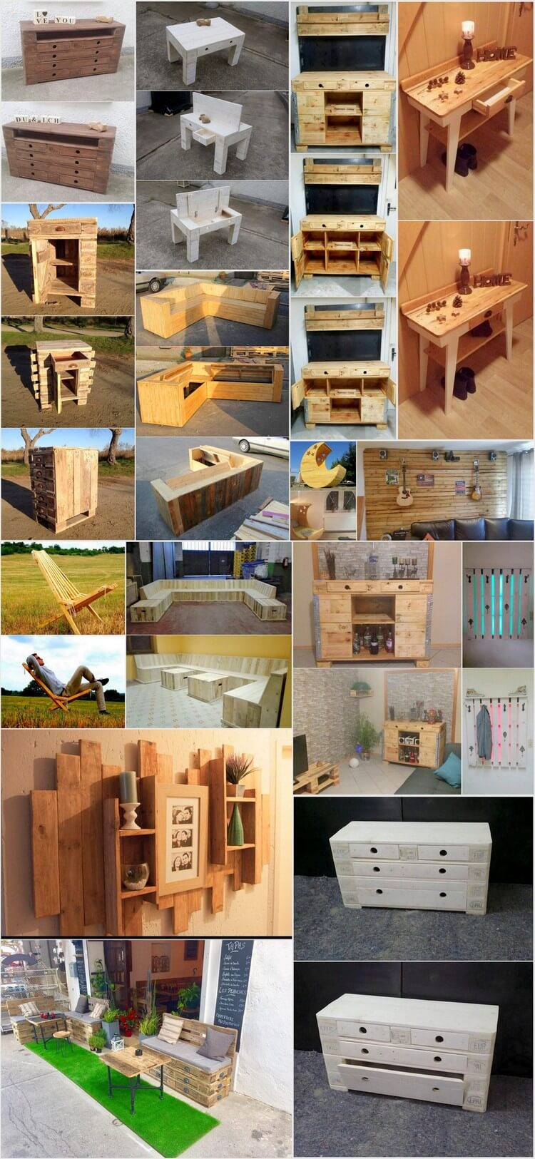 Amazing Creations with Recycled Wooden Pallets