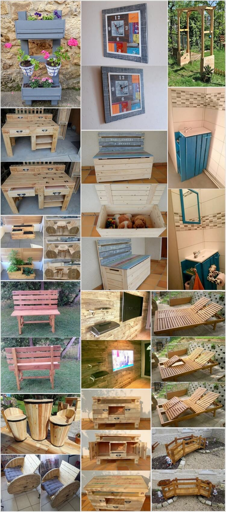Creative Ideas for Wooden Pallet Recycling