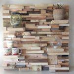 Decorative Wood Pallet Wall Shelf