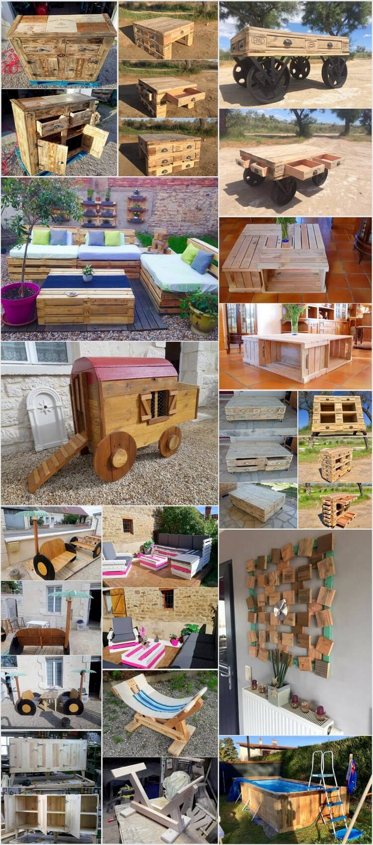 Easiest Wooden Pallet Recycling Projects