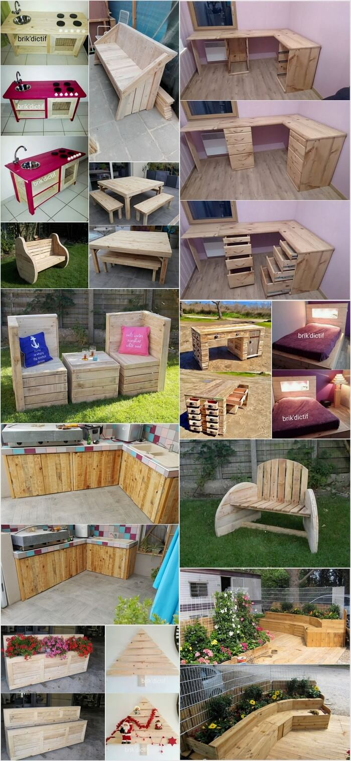 Feasible Pallet Ideas with Used Shipping Pallets