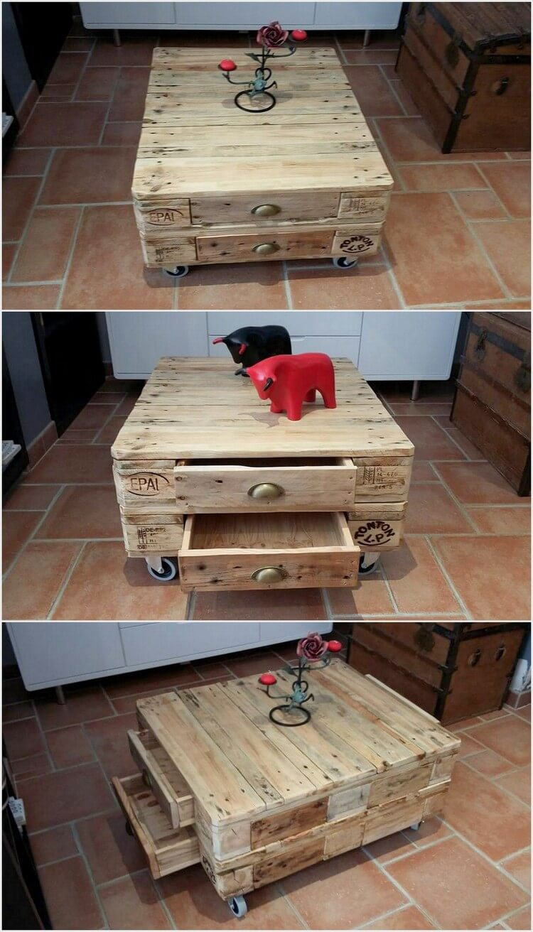 Some Cool Ideas For Wood Pallet Reusing Projects