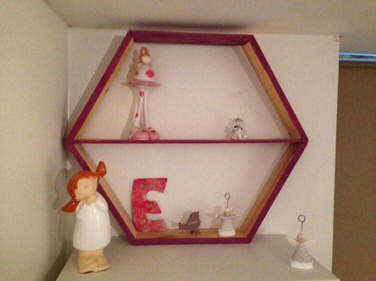 Modern Pallet Shelf
