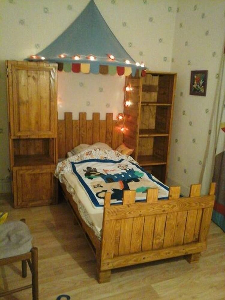 Cheap home furnishings with recycled wooden pallets for Cheap home furnishings