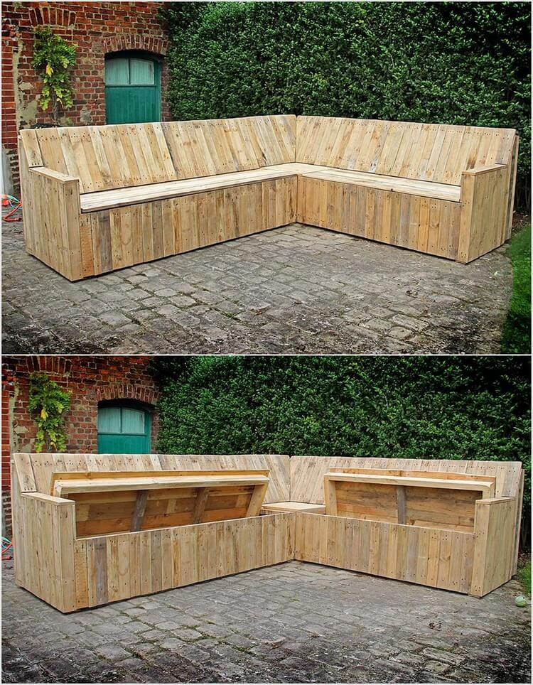 Innovative ideas to recycle old wood pallets pallet wood for What to make out of those old wood pallets