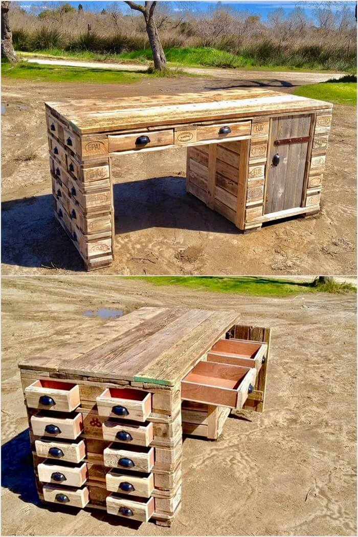 Pallet Desk or Office Table