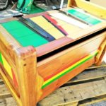 Pallet Made Toy Box