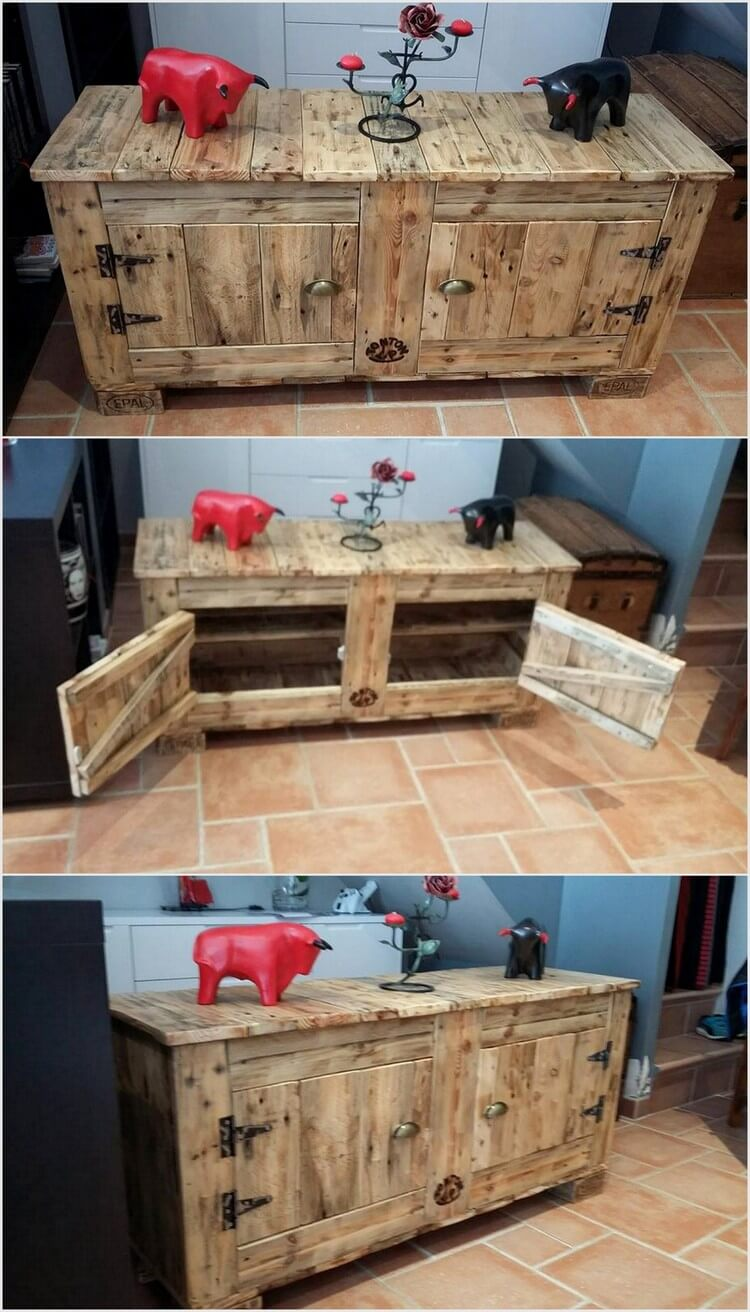 cheap home furnishings with recycled wooden pallets