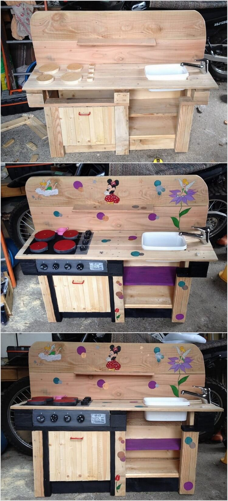 Some fascinating diy projects with old wood pallets for Kitchen ideas using pallets