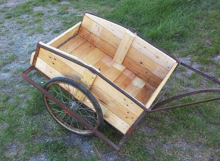 Pallet Wheel Barrow