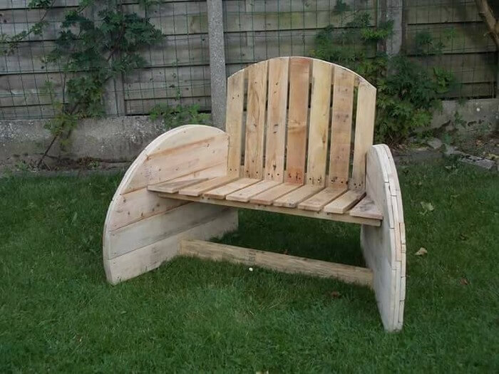 Pallets or Cable Reel Spool Seat