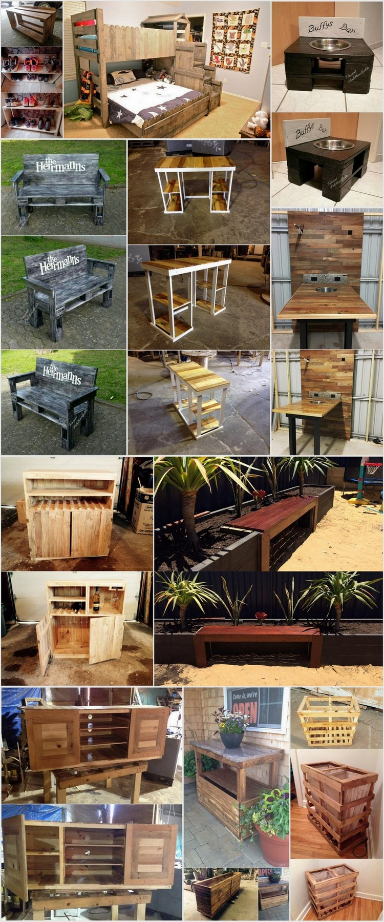 Perfect Ideas for Shipping Pallet Reusing