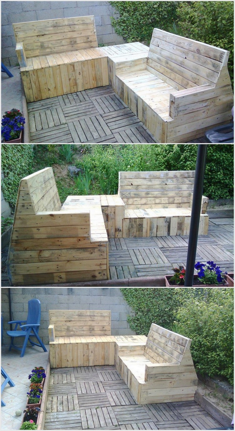 Recycled Wood Pallet Terrace (2)