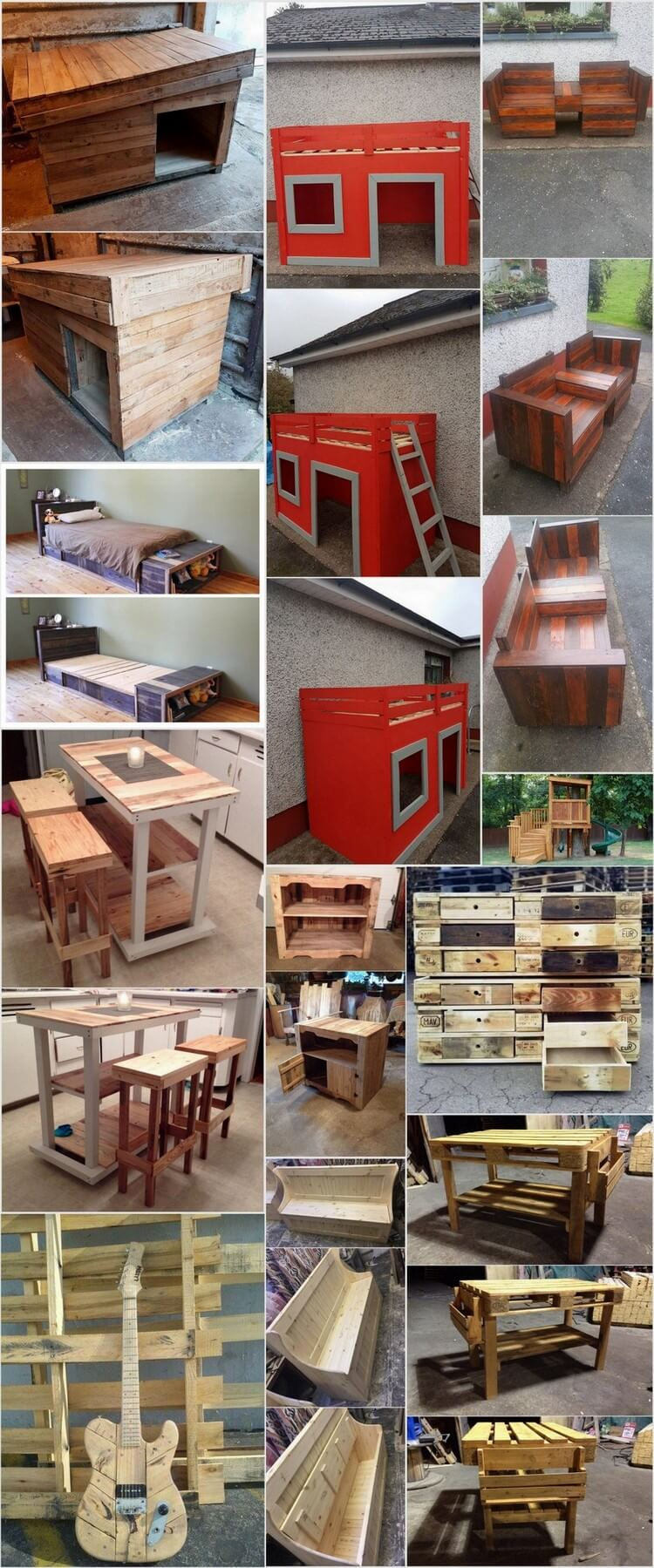 Splendid Ideas with Used Shipping Pallets