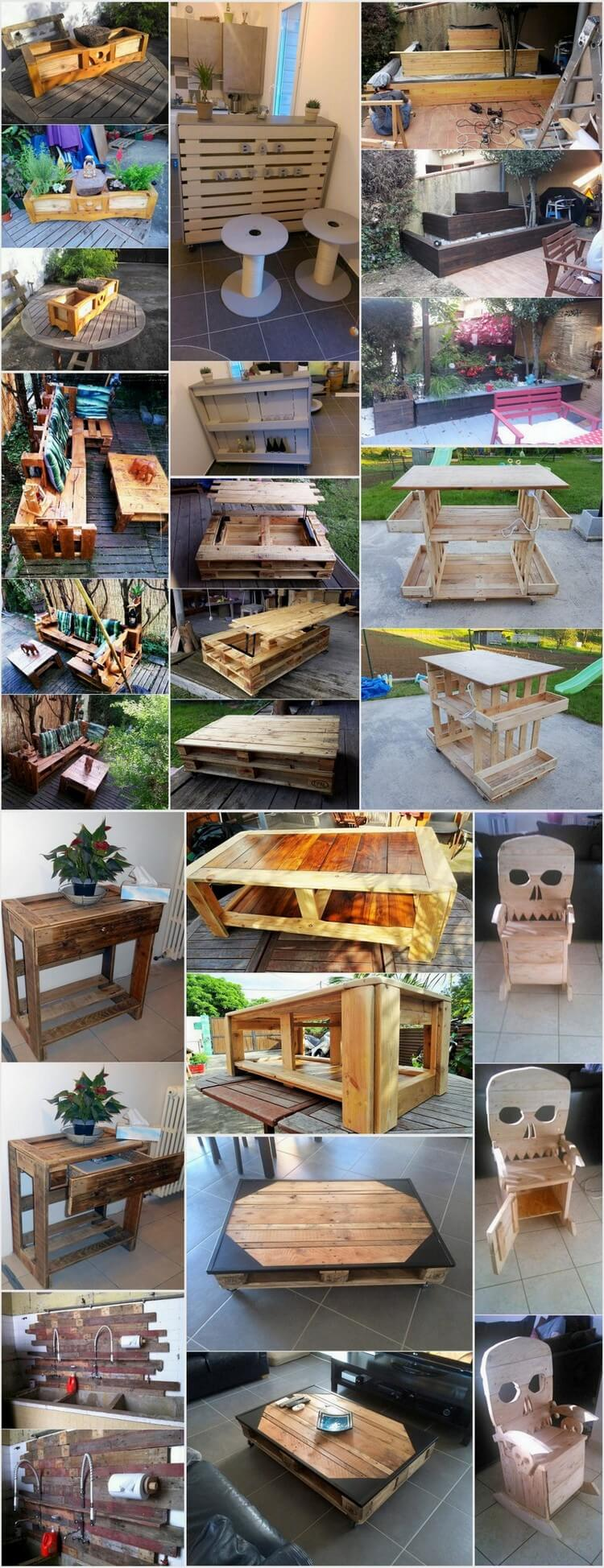Superb Reusing Ideas for Old Wooden Pallets