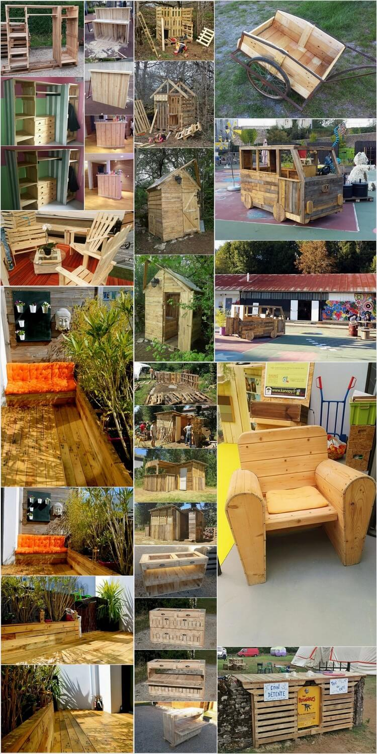 Top Best Recycling Ideas with Used Wood Pallets