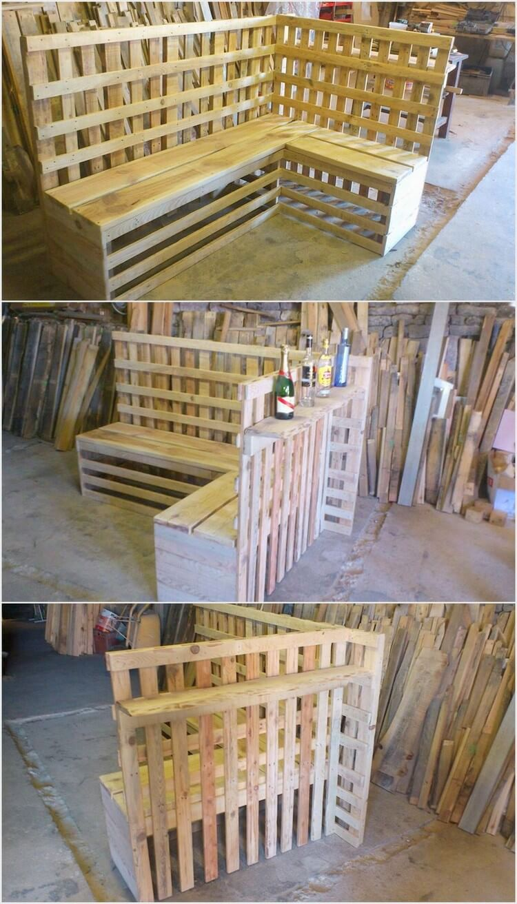 Unique Pallet Couch