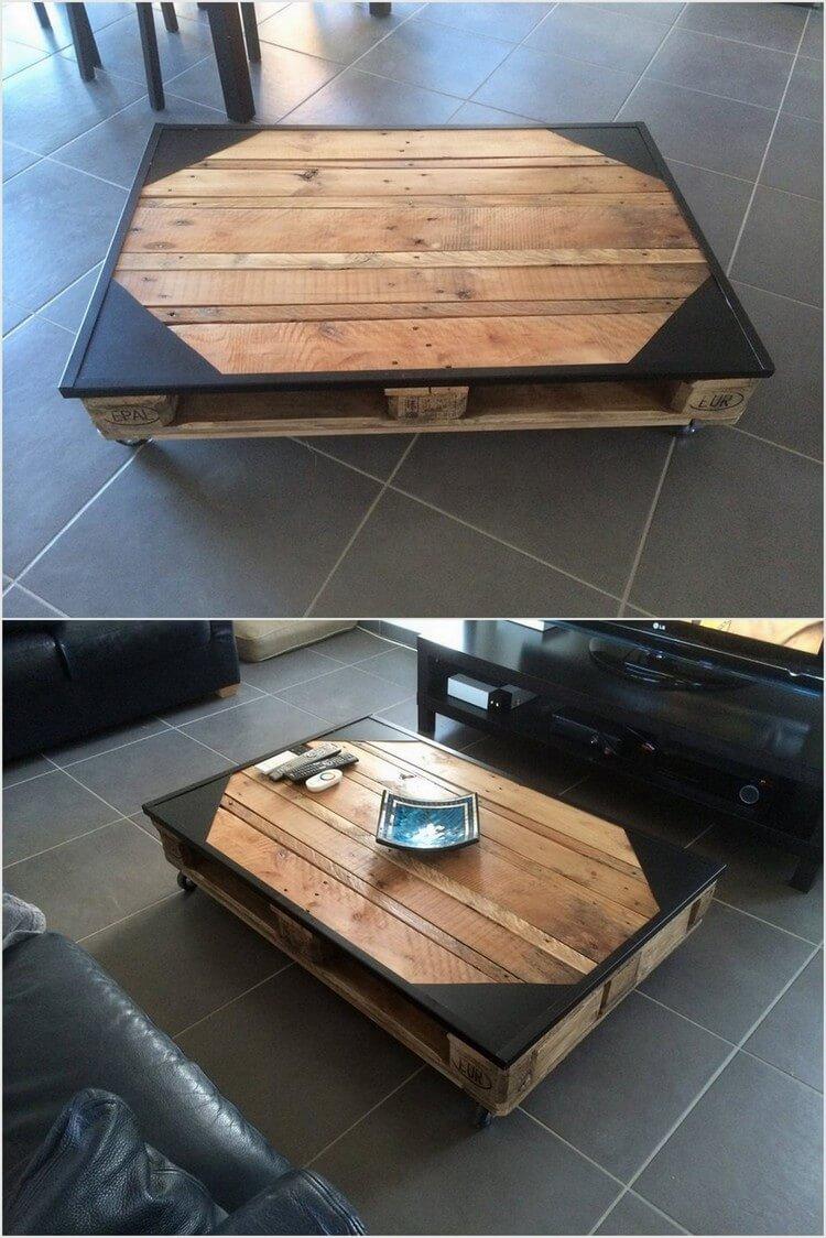 Unique Pallet Table Idea