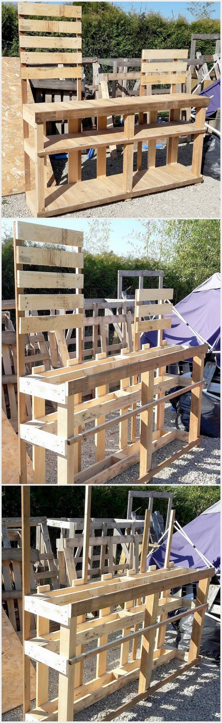 Easy Crafts From Pallets