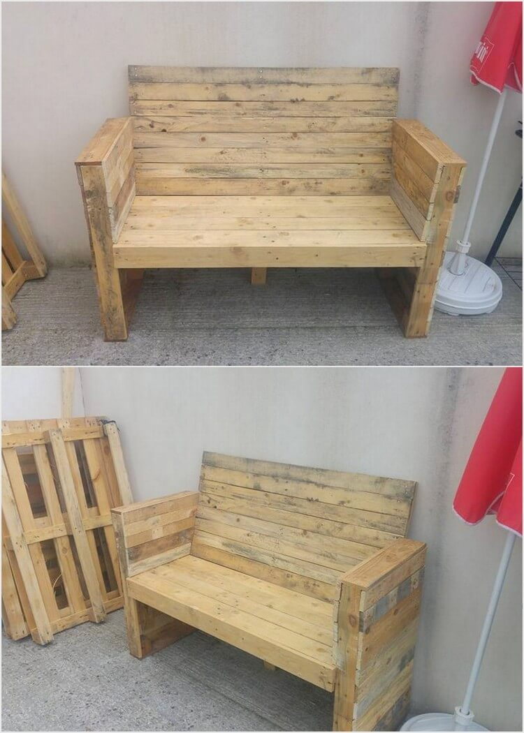 Some cool ideas for wood pallet reusing pallet wood projects for Cool ideas for wooden pallets