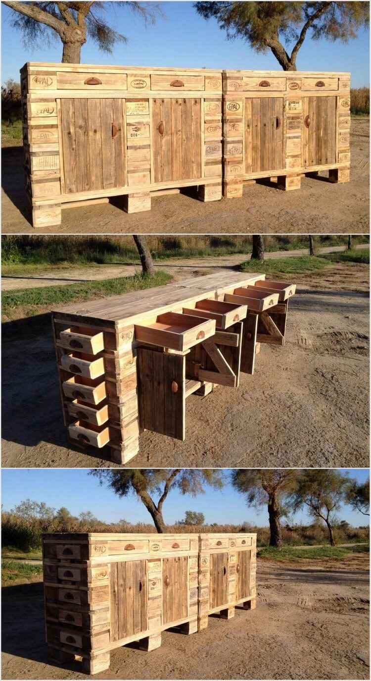Inspiring Diy Ideas With Old Wood Pallets Pallet Wood