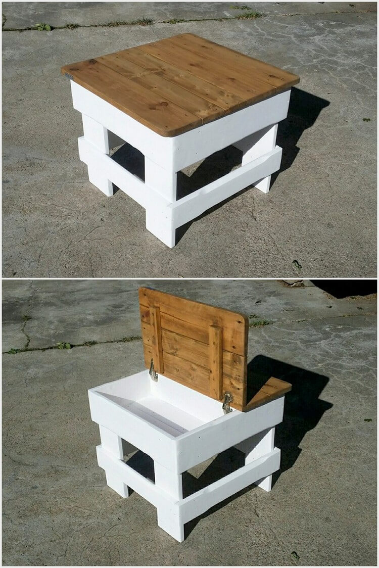 simple and easy projects to recycle old wood pallets