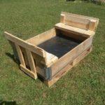 Wood Pallets Sand Pit