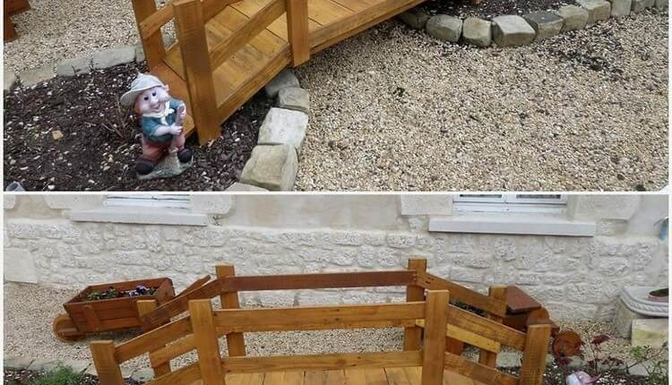 Wooden Pallet Project for Garden
