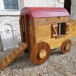 Wooden Pallets Chicken Coop