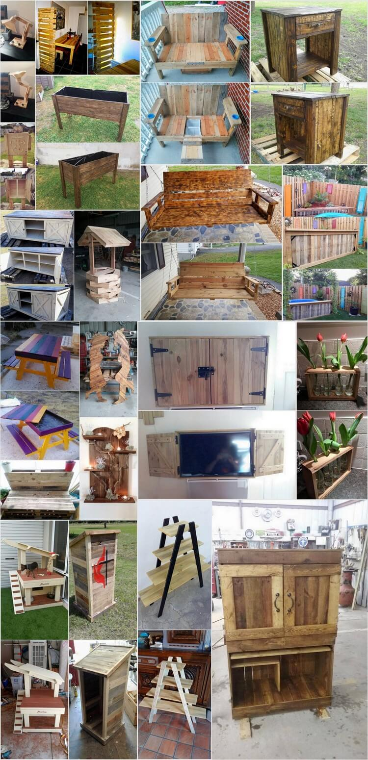 20 Creative Ideas to Reuse Old Wooden Pallets