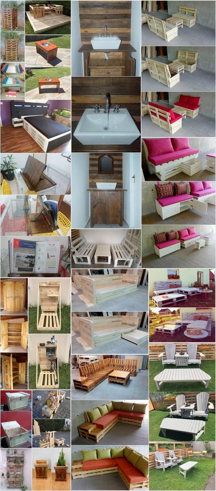 20 Plus Amazing Plans for Wooden Pallet Reusing