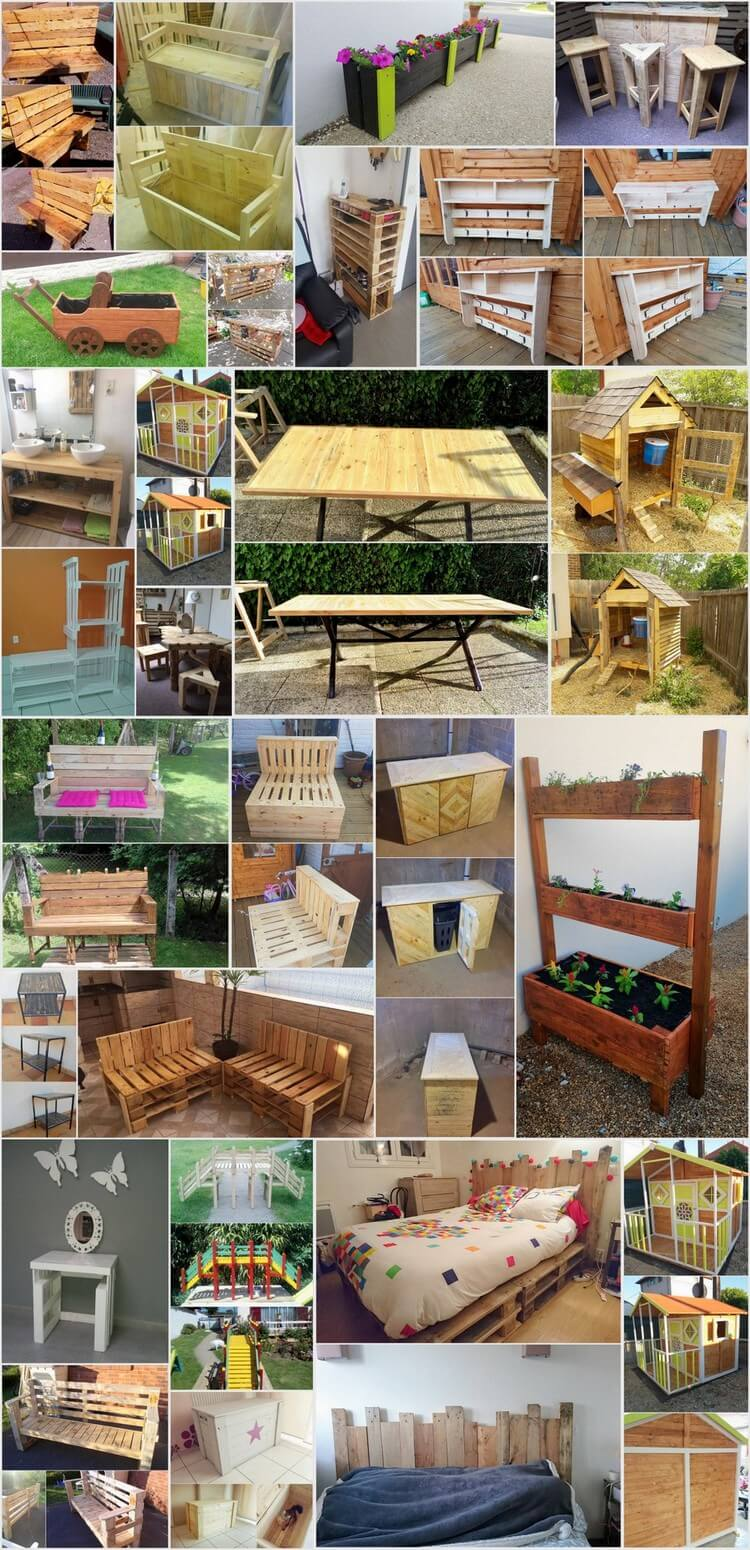 25 Creative Ideas to Repurpose Old Wooden Pallets
